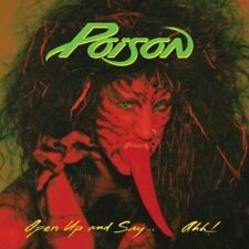 Open Up And Say Ahh - Poison (2018, Vinyl NEUF)