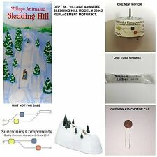 Dept 56 Village Animated Sledding Hill #52645  -REPLACEMENT PART - MOTOR KIT