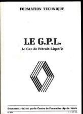 Le G.P.L.Document Formation Technique Renault