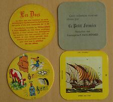 Fromagerie F. Paul-Renard Le Petit Fermier, 2 sous-boc, voilier N°20+Rébus N°20