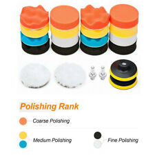 22Pc 3 In Polishing Pads Sponge Woolen Waxing Buffing Pad Kits M10 Drill Adapter