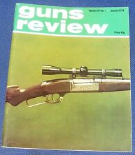 GUNS REVIEW MAGAZINE JANUARY 1979 - THE .455 AUTOMATIC PISTOL IN THE BRITISH SER