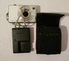 Sony Cyber-shot DSC-W100 8.1MP MegaPixels Silver Digital Camera Carl Zeiss Lens