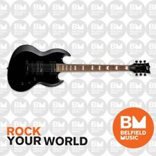 ESP LTD VIPER-201B Electric Guitar Baritone Black - LVP-201BBLK