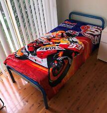 All Season King/Single Size Faux Mink Blanket - Marc Marquez HRC Honda Repsol