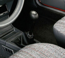 Genuine Leather Gear Shift Boot Gaiter Cover Sleeve fit Peugeot 205 1983 - 1998