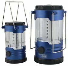Yellowstone 12 LED & 18 LED Lanterns Twin Pack Camping Caravanning