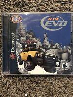 4x4 EVO (Sega Dreamcast, 2000) ✅CIB/Complete ✅Tested