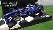 F1 PROST PEUGEOT AP03 HEIDFELD 1/43 MINICHAMPS 430000015 voiture miniature coll.