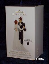 2012 Hallmark EDWARD and BELLA'S Wedding TWILIGHT Breaking Dawn Part 1 Ornament