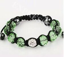 Girls Handmade Fashion Crystal&Rhinestone Shamballa Bracelet( buy 2 get 1 free)