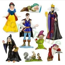 PVC Princess Snow White And The Seven Dwarfs Queen Prince Figure Play Set