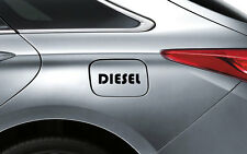 Black Diesel D1 Decal Sticker Fuel Lid Toyota Etios Liva Corolla Innova Fortuner