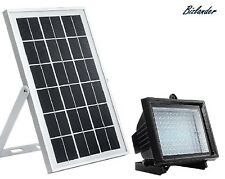 Bizlander Street Light 10W 108Led Solar Powered Flood Light for Community Hoa Ca