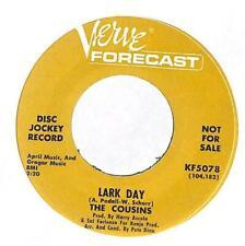 "The Cousins - Lark Day - Promo - 7"" Vinyl Record"
