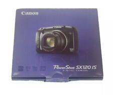 NEW in Open Box - Canon PowerShot SX120 HS 10.0 MP Camera - BLACK - 013803114201