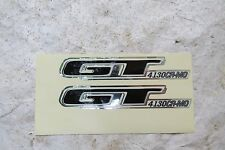 GT SHOW FREESTYLE DECALS FORK  BMX RACING STICKERS NOS
