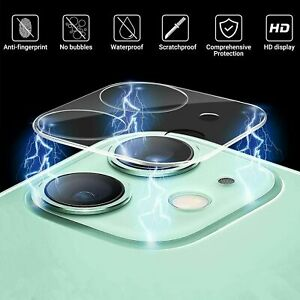 9H Camera Lens For iPhone 11 Pro MAX Case Protector Tempered Glass Cover