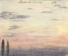 A.C.H. Luxmoore, Londra all'alba - 19th-SECOLO dipinto ad Acquerello