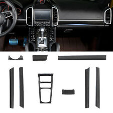 Real Carbon Fiber interior Molding Kit For Porsche Cayenne 2012~2016