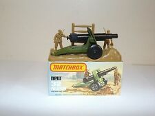 MATCHBOX SUPERFAST NO.32C FIELD GUN WITH BASE MIB