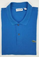 Lacoste Polo Blue 3XL Mens Size Cotton Recent Classic Fit Croc FA8713 Pique XXXL