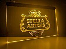 More details for stella artois uk led light neon sign home bar pub mancave beer pint dad gift