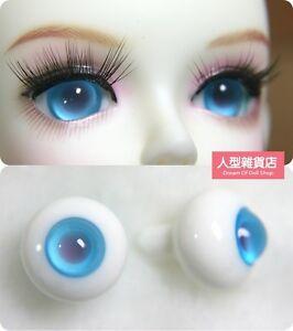 16mm  For BJD DOD AOD MK OK RD Doll Dollfie Glass Eyes Outfit blue 10