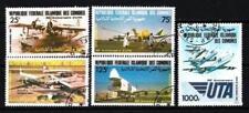 Avions Comores (26) série complète de 5 timbres oblitérés
