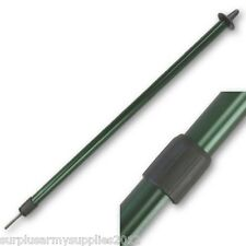 BASHA POLE TWIST LOCK TELESCOPIC EXTENDABLE TARP TENT POLE CAMPING ARMY BIVI