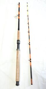 Monster Catfish Casting Rod 8' 2PC New Tilting Guides Glow Tip