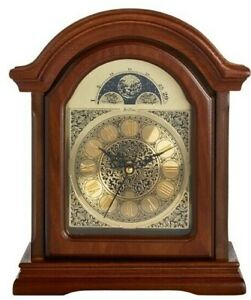 Acctim Clocks  Wooden Radio Controlled Westminster Chime Mantle Clock 77066
