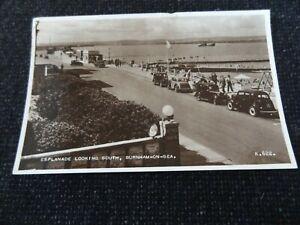Esplanade Looking South Burnham on Sea Postcard Somerset - 43745