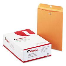 100 Universal 10x13 Clasp Envelopes Mailing Kraft Clasp Manila Catalog Brown #97
