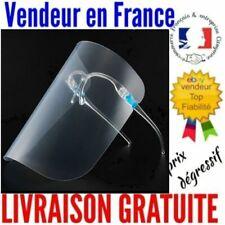 """TOP VENTE Visière de Protection """"Modèle Lunette"""" 25x19cm Translucide et léger !"""