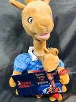 Llama Llama Red Pajama Bedtime Mama Reading  Book To Baby Animated Talking Plush