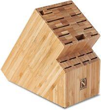 Cook N Home Nc-00326 Bamboo Knife Storage Block, 19 Slot