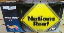 NASCAR Michael Waltrip #7 Naciones Unidas alquilar 1:24 escala Hot Wheels