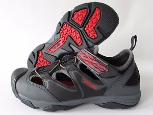 TEVA Rollick Adjustable Strap Sport Sandals Water Shoes, Youth Boys size 5 NEW