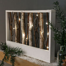 42CM INDOOR BATTERY OPERATED CHRISTMAS WOODEN WEDDING NORDIC TWIG LED LIGHT