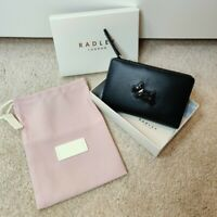 Radley London Heritage Dog Wallet Outline Brown Tan Leather 80943EXH NWT New