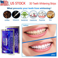 CREST 3D GLAMOROUS WHITE Whitestrips Teeth Dental Whitening 20 Strips NEW NO BOX