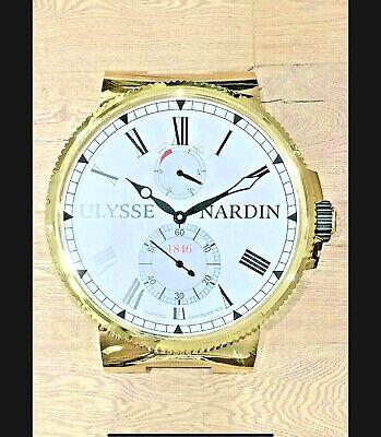Reloj de pared / Wall Clock ULYSSE NARDIN Marina (Original UN)