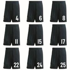 Adidas Football Real Madrid CF Mens Kids Away Shorts 2018 2019 w/ Player Number