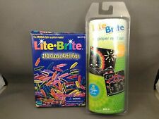 Vintage Lite Brite 240 Classic Refill Pegs & Vintage Refill Sheets