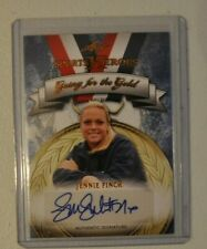 2013 Leaf Sports Heroes Going for the Gold Jennie Finch autograph