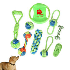 Pet Dog Puppy Braided Funny Cotton Rope Chew Toy Grinding Teeth Toy Training Toy