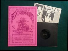 """PTOLEMAIC TERRASCOPE #9  + 7"""" EP M.Hutchhinson + 2. Fab 1992 Psych magazine."""