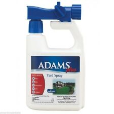Adams Plus Yard and  Kennel Spray Fleas,Ticks,Mosquitoes 32oz Hose Connector