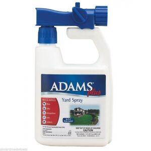 Adams Plus Yard and  Kennel Spray Fleas,Ticks,Mosquitoes 32oz Hose Connector